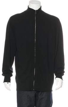 Hermes Wool and Cashmere-Blend Zip Sweater
