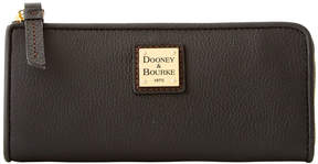 Dooney & Bourke Belvedere Zip Clutch - BLACK - STYLE
