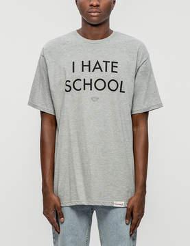 Diamond Supply Co. I Hate School S/S T-Shirt