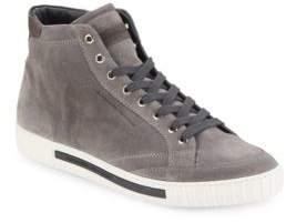 Alessandro Dell'Acqua Suede High-Top Sneakers