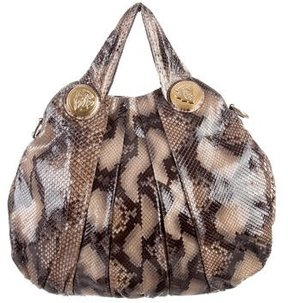 Gucci Large Python Hysteria Tote - ANIMAL PRINT - STYLE
