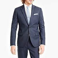 J.Crew Factory Thompson classic-fit suit jacket in worsted wool