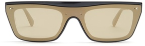 VALENTINO Flat-top acetate sunglasses