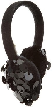 Kate Spade New York Wool Sequin-Embellished Earmuffs