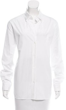 Vanessa Bruno Long Sleeve Button-Up Top w/ Tags