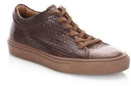 Aquatalia Alaric Weatherproof Leather Sneakers