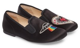 Gucci Toddler Girl's Nannie Applique Loafer Flat