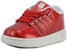 K-Swiss Classic Vn Shine On Round Toe Patent Leather Sneakers.