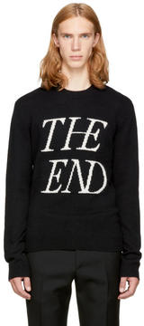 McQ Black The End Sweater