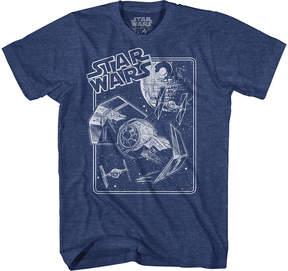Star Wars Novelty T-Shirts Tie Fighter Limit Graphic Tee