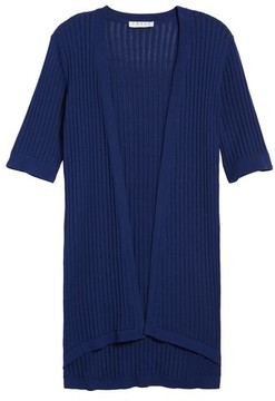 Chaus Women's Long Ribbed Cardigan