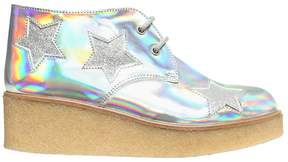 Stella McCartney Stars Iridescent Faux Leather Shoes