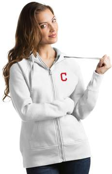 Antigua Women's Cleveland Indians Victory Full-Zip Hoodie