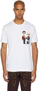 Dolce & Gabbana White Knight Designers T-Shirt