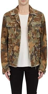 Amiri Men's Studded Camouflage Cotton Field Jacket