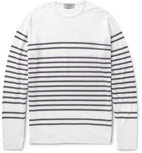 John Smedley Totnes Striped Merino Wool Sweater