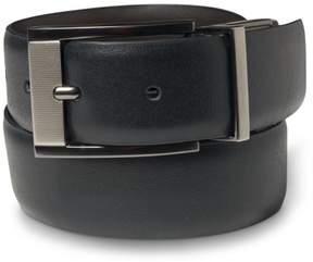 Calvin Klein Mens Logo Belt Black 36
