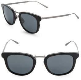 Bottega Veneta 49MM Wayfarer Sunglasses
