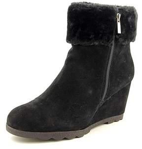 Alfani Womens Oreena Leather Closed Toe Ankle Cold Weather Boots.