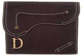 Christian Dior Leather Flap Pouch