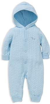 Little Me Boys' Cable Knit Coverall - Baby