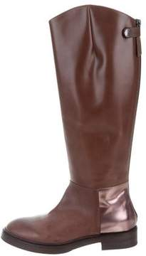 Brunello Cucinelli Leather Riding Boots w/ Tags