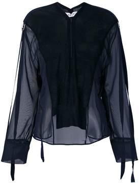 Aviu panelled blouse