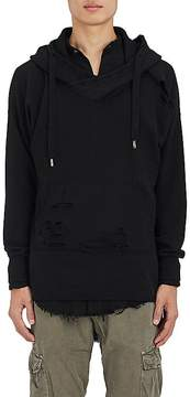 NSF Men's Distressed Cotton Hoodie