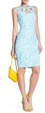 Eliza J Cutout Sheath Dress