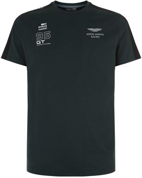 Hackett Stripe Panel Logo Motif T-Shirt