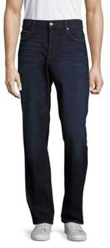 Joe's Jeans Straight-Leg Cotton-Blend Jeans