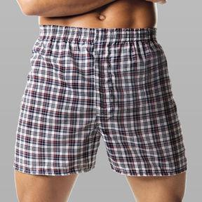 Hanes 4-pk. ComfortBlend Woven Boxers-Big & Tall