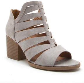 Qupid Light Gray Core Sandal - Women