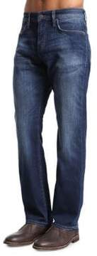 Mavi Jeans Myles Dark Williamsburg Straight-Leg Jeans