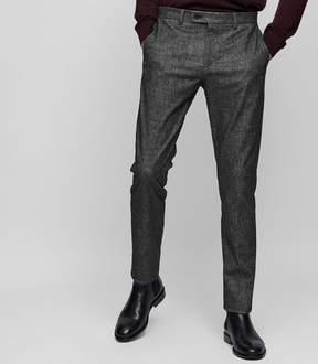 Reiss Zang Slim Melange Trousers