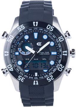 Croton N/A Mens Silver Tone Bracelet Watch-Ci331093bssl