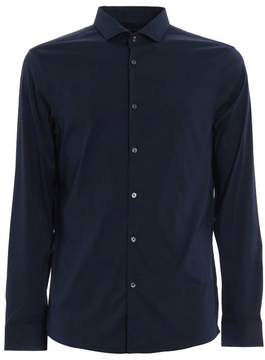 MICHAEL Michael Kors Slim Fit Shirt In Stretch Cotton