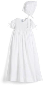Isabel Garreton Infant 'Pearls' Christening Gown & Bonnet
