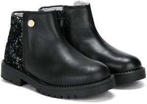 Stuart Weitzman glitter ankle boots