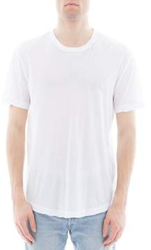James Perse Men's White Cotton T-shirt.
