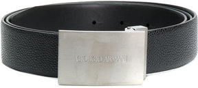 Giorgio Armani engraved logo belt