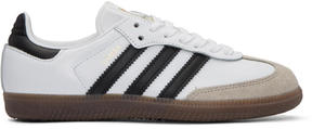 adidas White Samba Original Sneakers