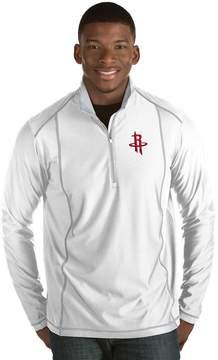 Antigua Men's Houston Rockets Tempo Quarter-Zip Pullover