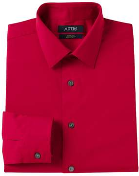 Apt. 9 Men's Modern-Fit Stretch Spread-Collar Dress Shirt