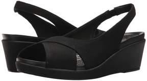 Crocs Leigh Ann Slingback Wedge Women's Shoes