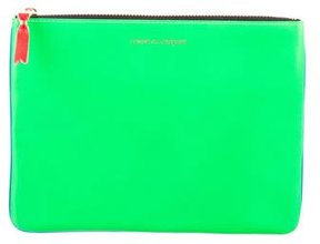 Comme des Garcons Leather Cosmetic Bag