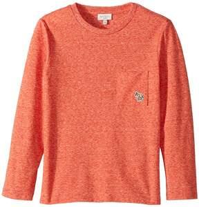 Paul Smith Long Sleeves Solid Tee Shirt Boy's T Shirt
