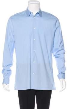 Balenciaga Woven Dress Shirt