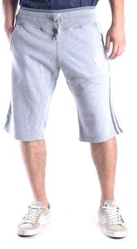 Richmond Men's Grey Cotton Shorts.