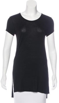 Enza Costa Short Sleeve Knit Top w/ Tags
